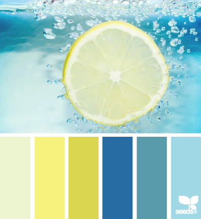 Refreshing hues palette