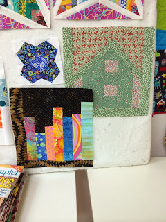 Assorted blocks of the month and Bee blocks.