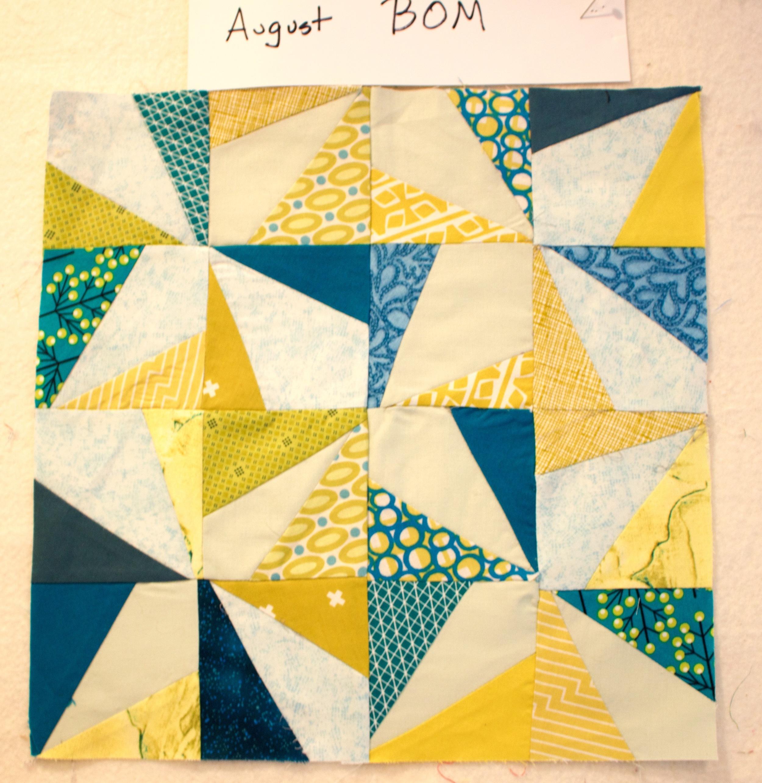 August BOM closeup