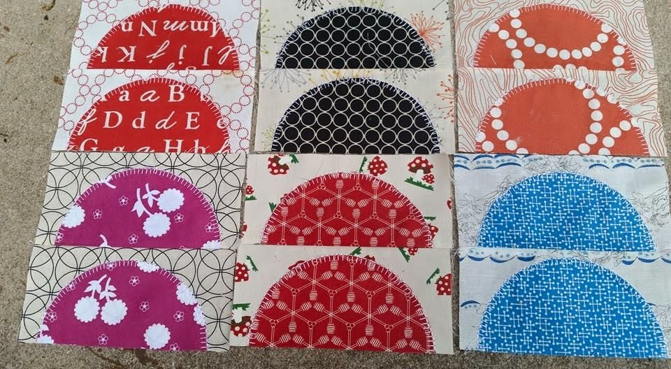These are only SOME of the many blocks that Ivy Bagnall made.