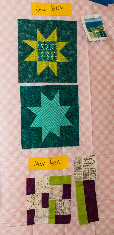 BOM: April and May samples