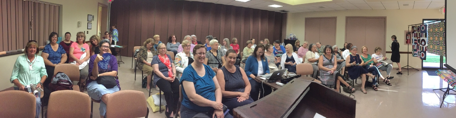 Full House for Maria Shell Lecture