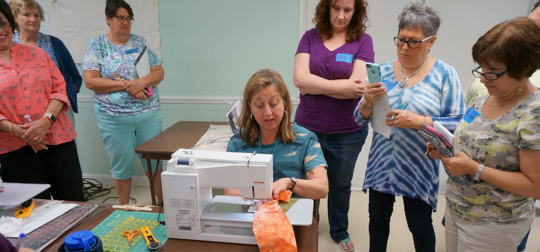 Maria sewing demo