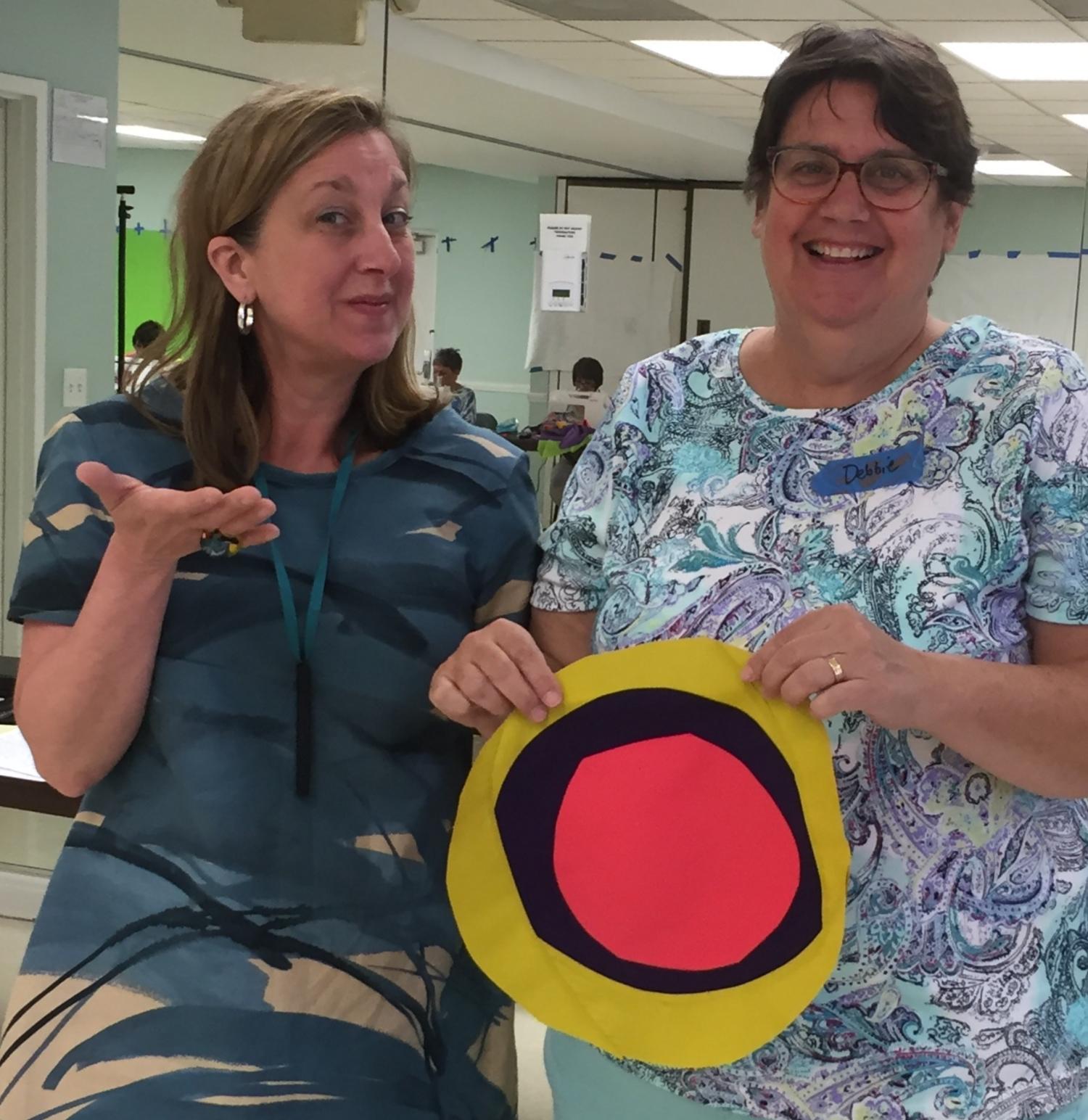 Maria Shell with first circle student Deborah  Krajkowski
