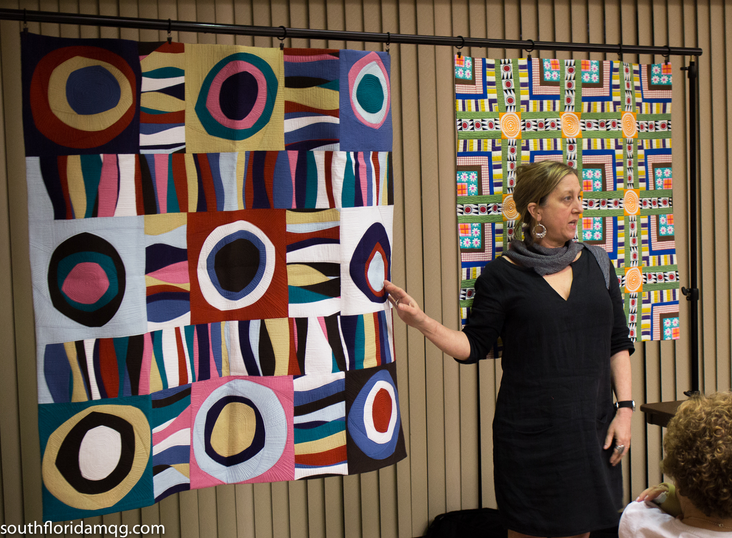 Maria shows us some of her gorgeous quilts and talks about her process.