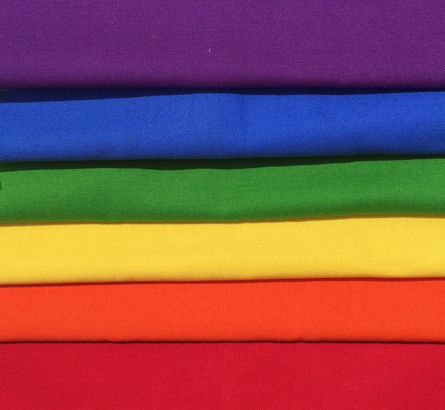 Our palette is a crayon box of primary colors.