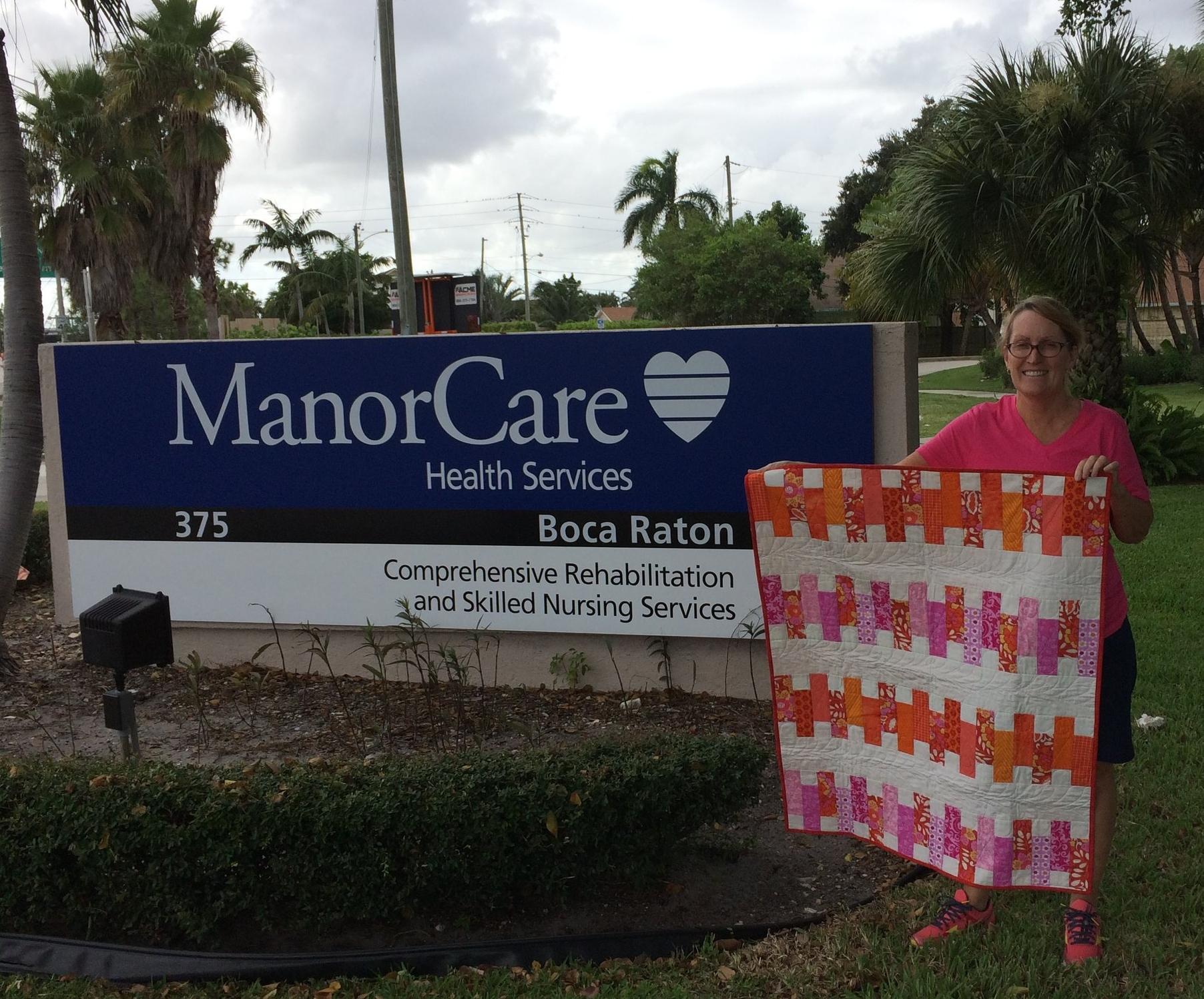 Manor Care nursing home in Boca Raton