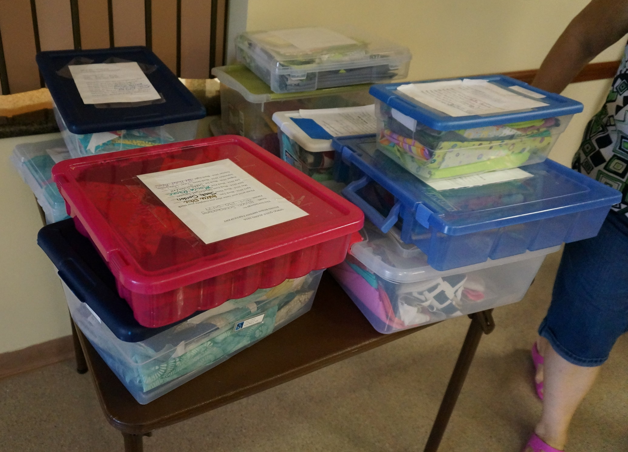 Final month of QAL box swapping!
