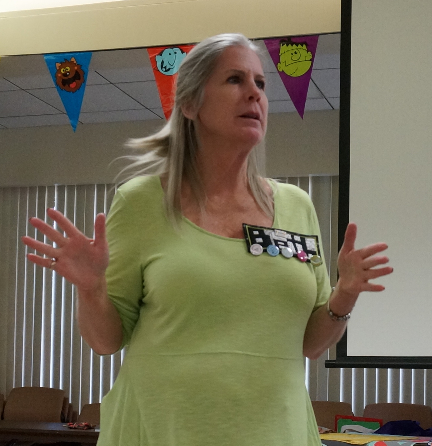 Presidential candidate Beth Schnell tells us about herself.