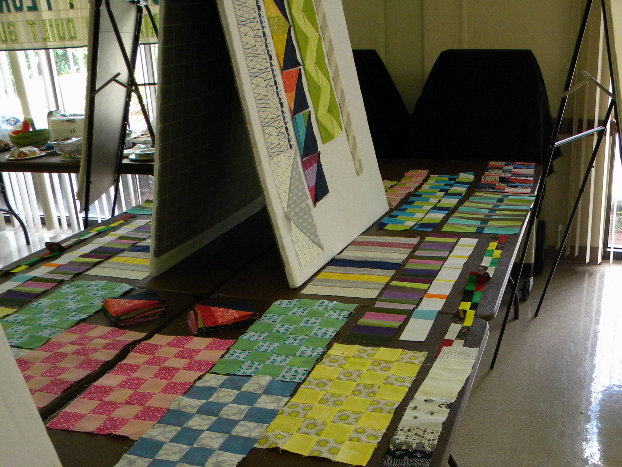 March's Strips, Squares, and Rectangles