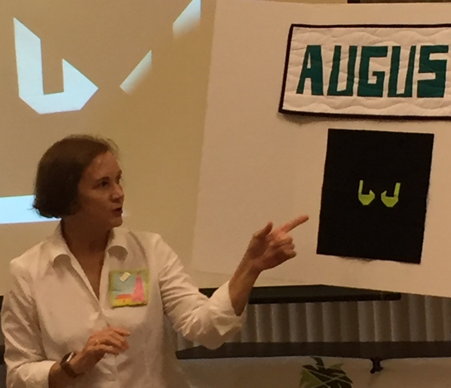 Linda reviewed the scary August BOM to be brought to the September meeting.