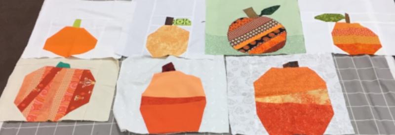 October pumpkins won by Sharon H.