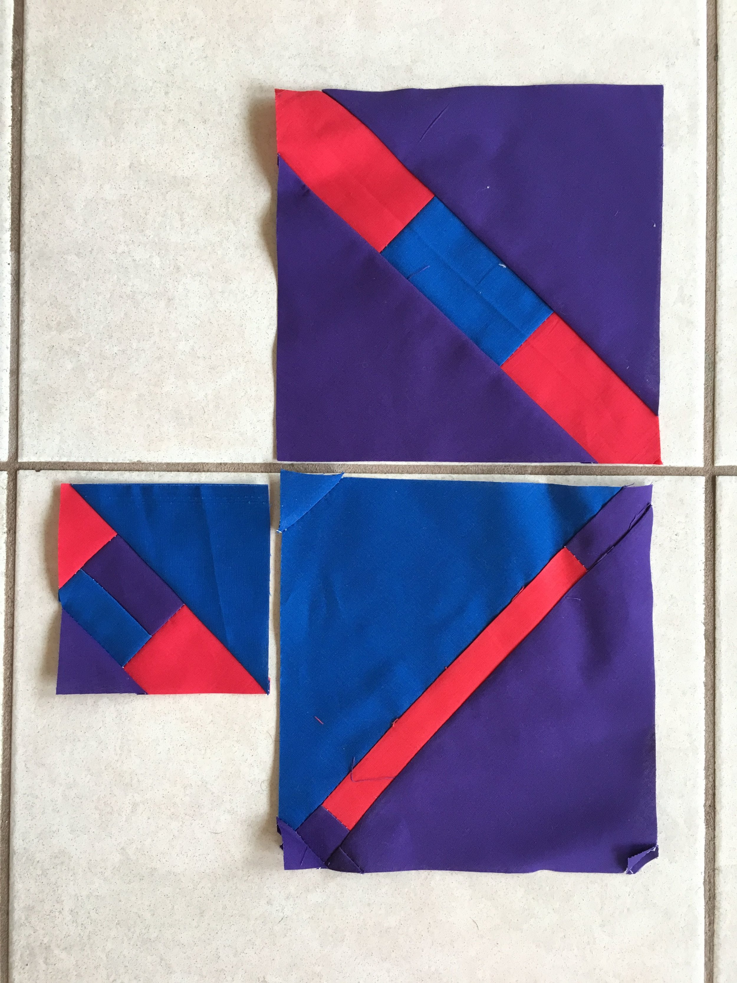 Jan 2019 BOM -- Quilted Under the Infuene --Stripe in Square.JPG