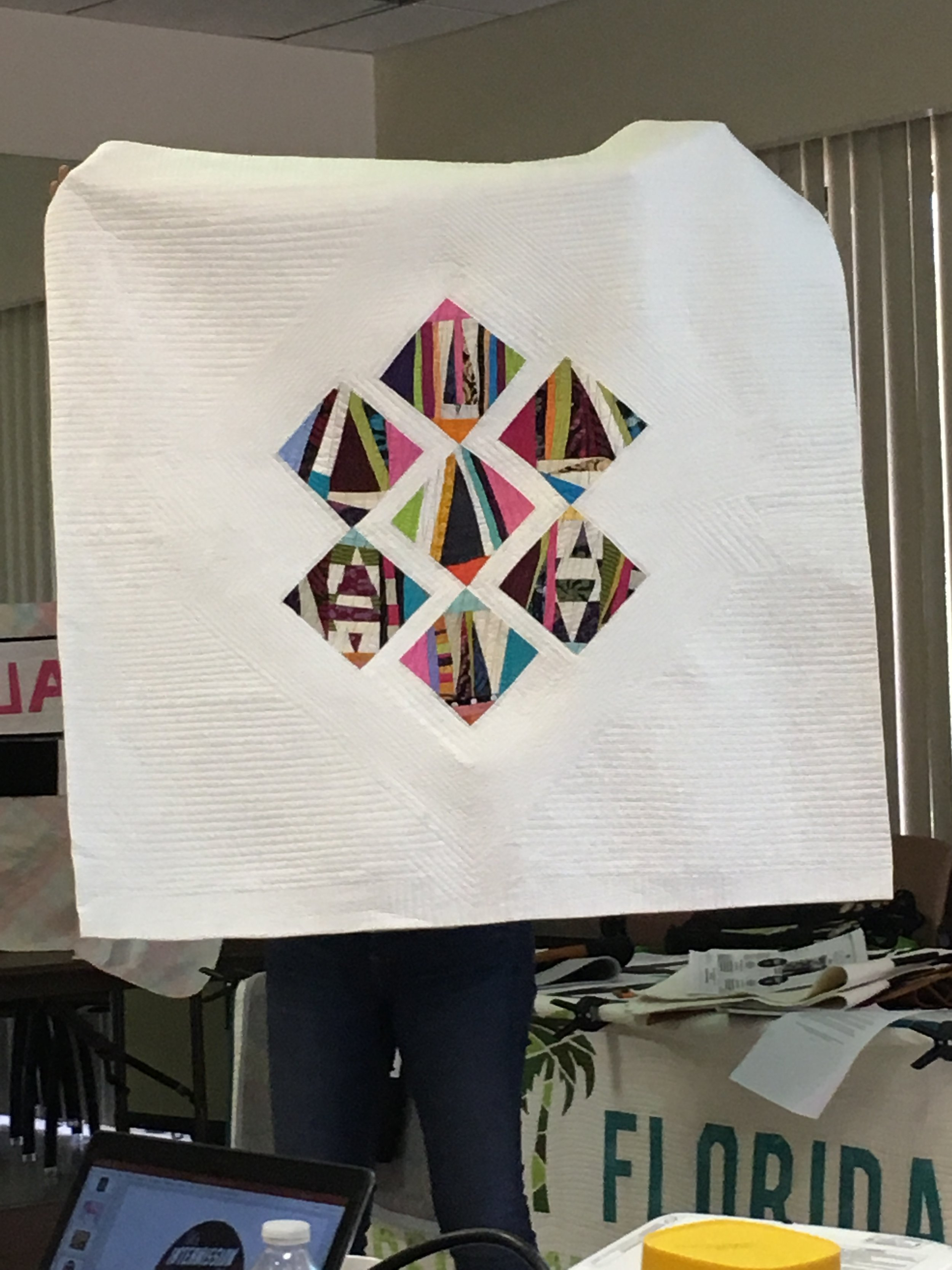 Non-pattern Paper Piecing
