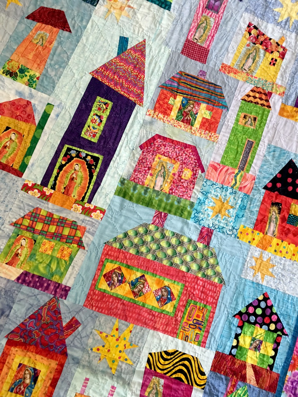 Samples of Debbie's quilts, you will be making your own original quilt, not necessarily one of quilts shown in the photographs.