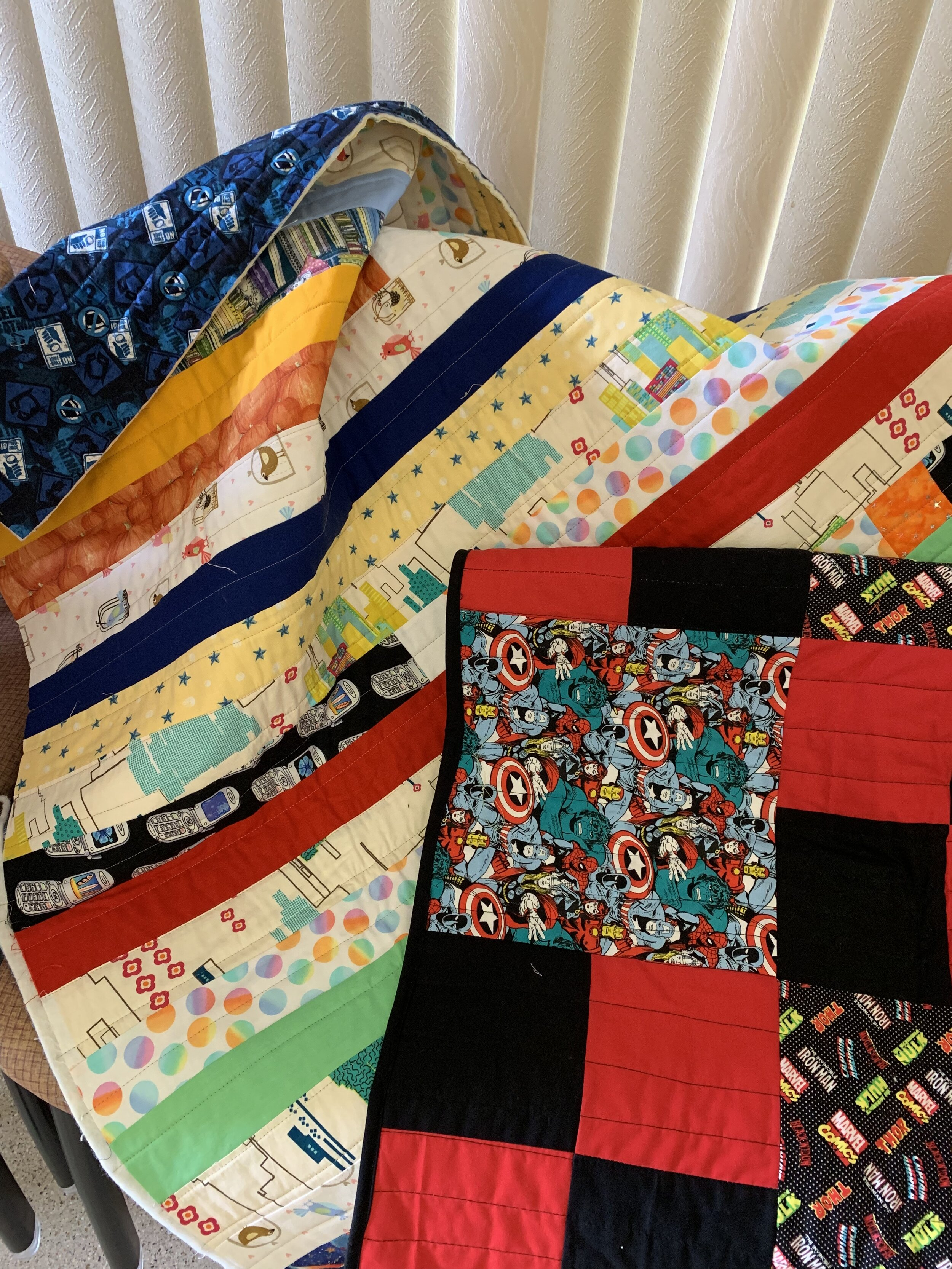 Charity Quilts for Kids.