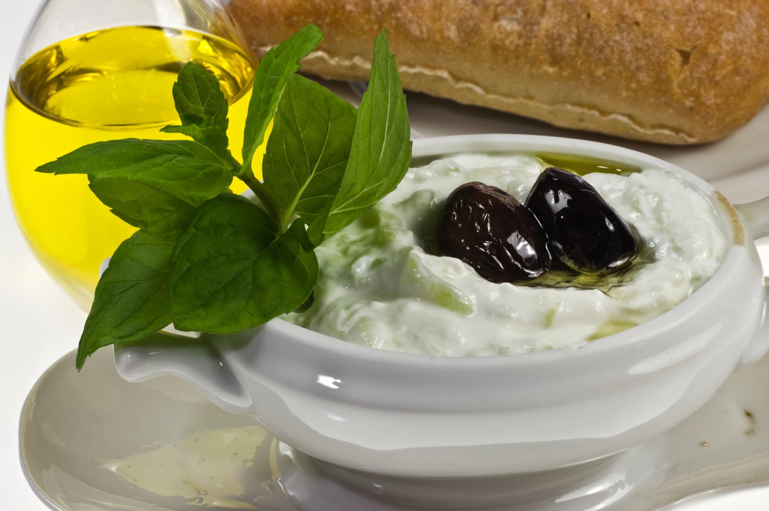 Tzatziki dish