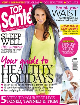 Top Santé - Working with renowned health journalist Helen Foster. Emergency Assistance Whilst on Holiday article - Professional Insight.