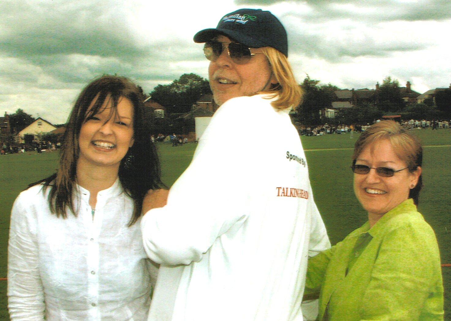 L-R: Laurianne, Rick Wakeman, Eileen.