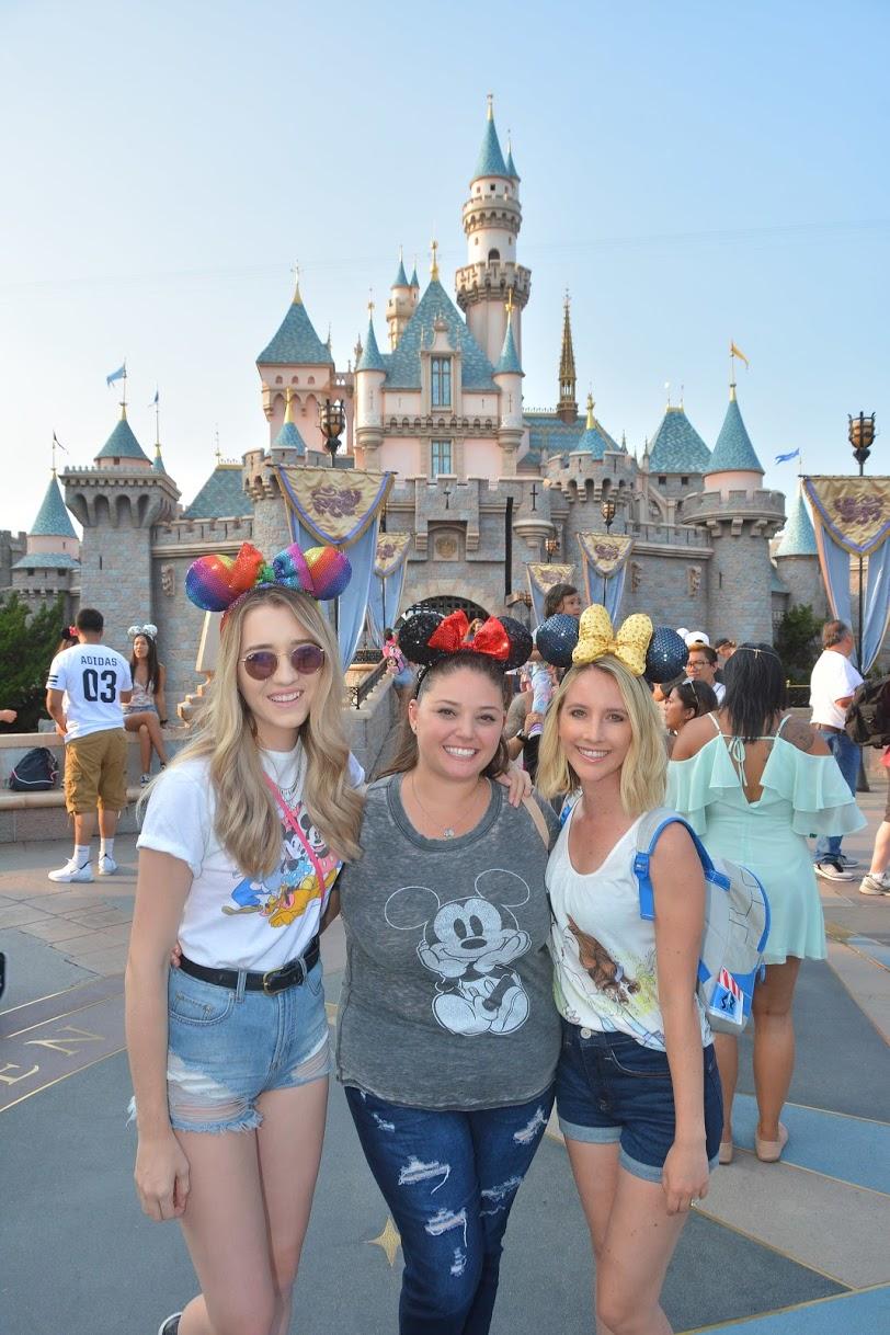JAE at Disneyland