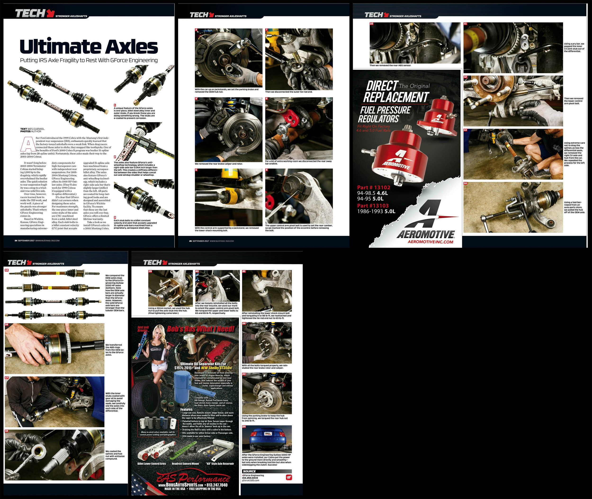 Published in the September 2017 issue of  Muscle Mustangs and Fast Fords Magazine