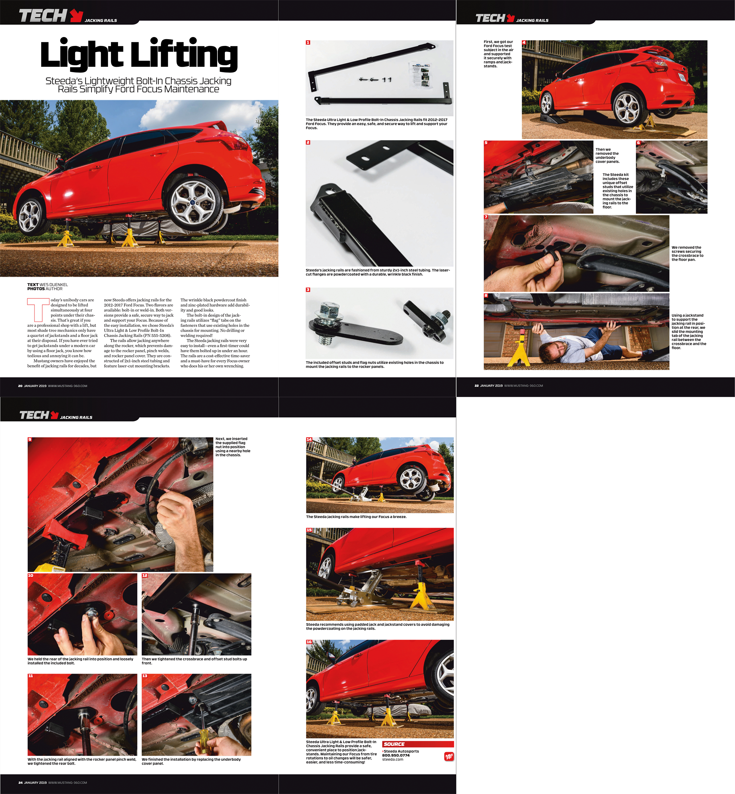 Published in the January 2019 issue of  Muscle Mustangs and Fast Fords Magazine