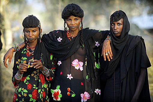 A few beautiful Bororo women