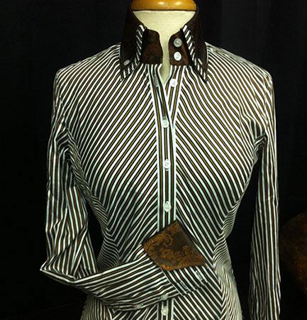 Chevron Ladies Shirt