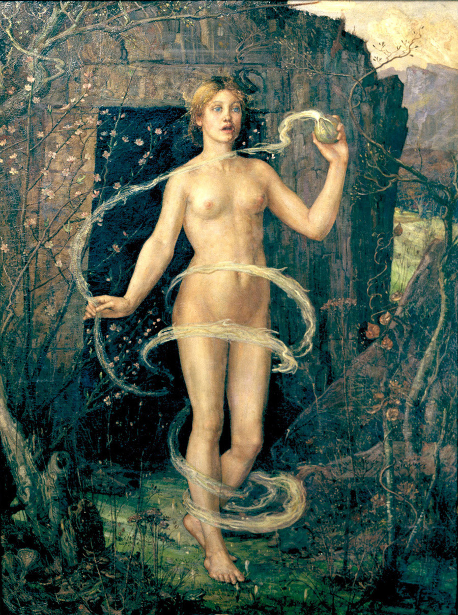 """""""The Spring Witch"""" George Wilson - Creative Commons"""
