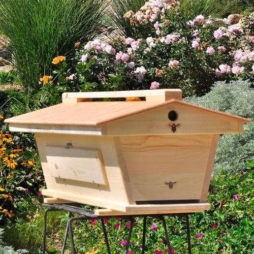 Top Bar Hive - Design from Back Yard hive - roof handle not included.