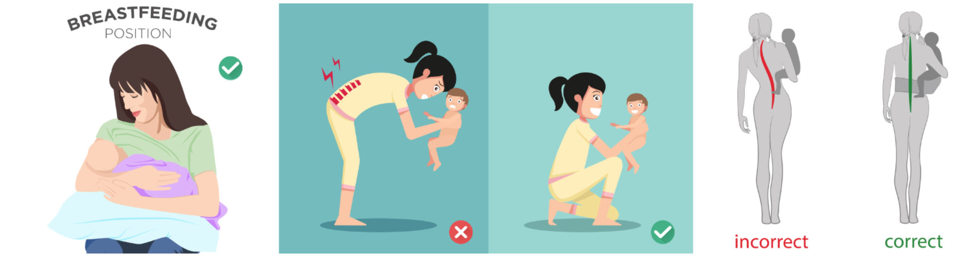 postpartum back pain and remedies