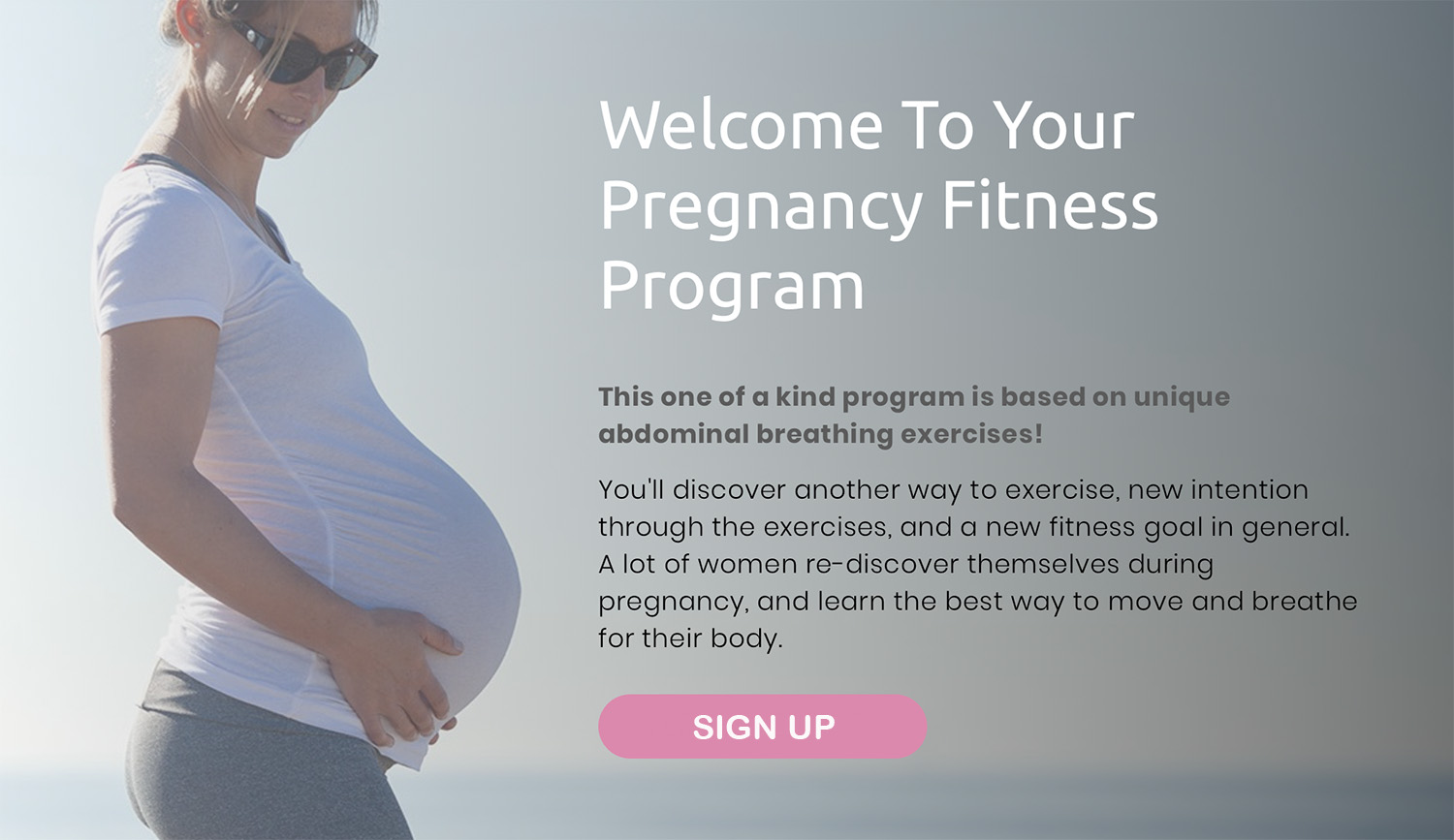 Pregnancy workout routine & wellness plan -  First trimester exercises  to 40 weeks!