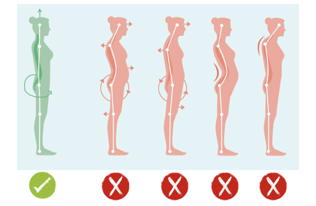 female posture - how to have good posture female