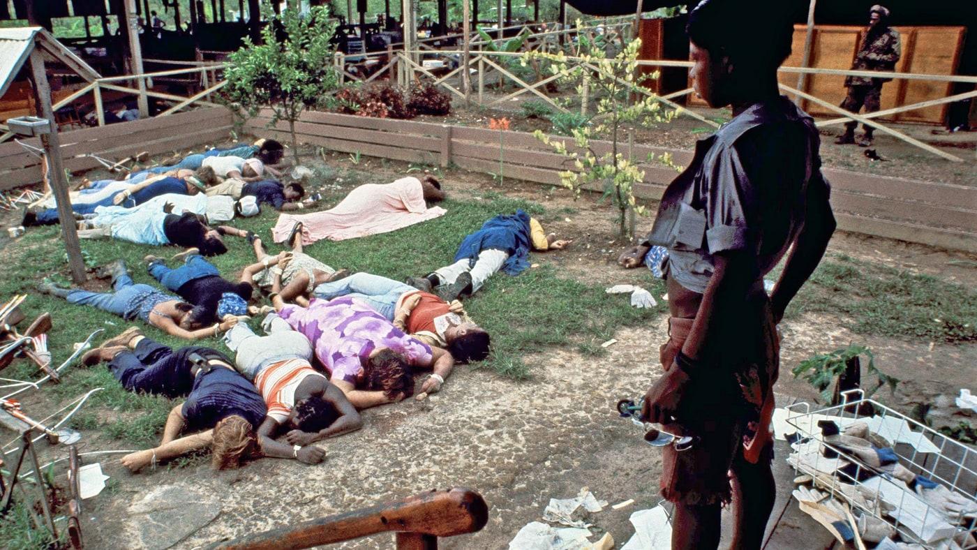 Mass Suicide at Jonestown Cult, November 18, 1978