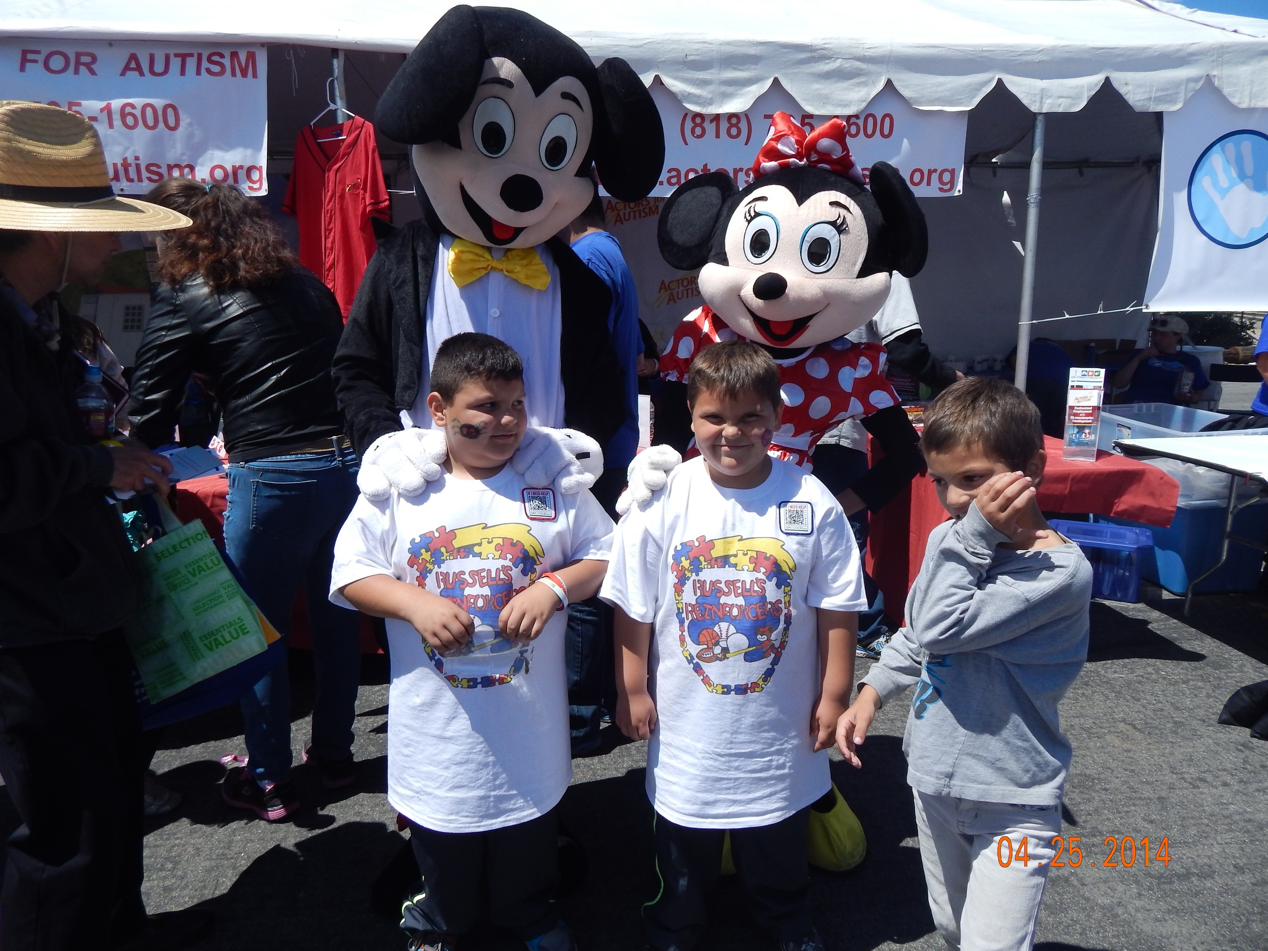 Autism Speaks Walk, Los Angeles 2014