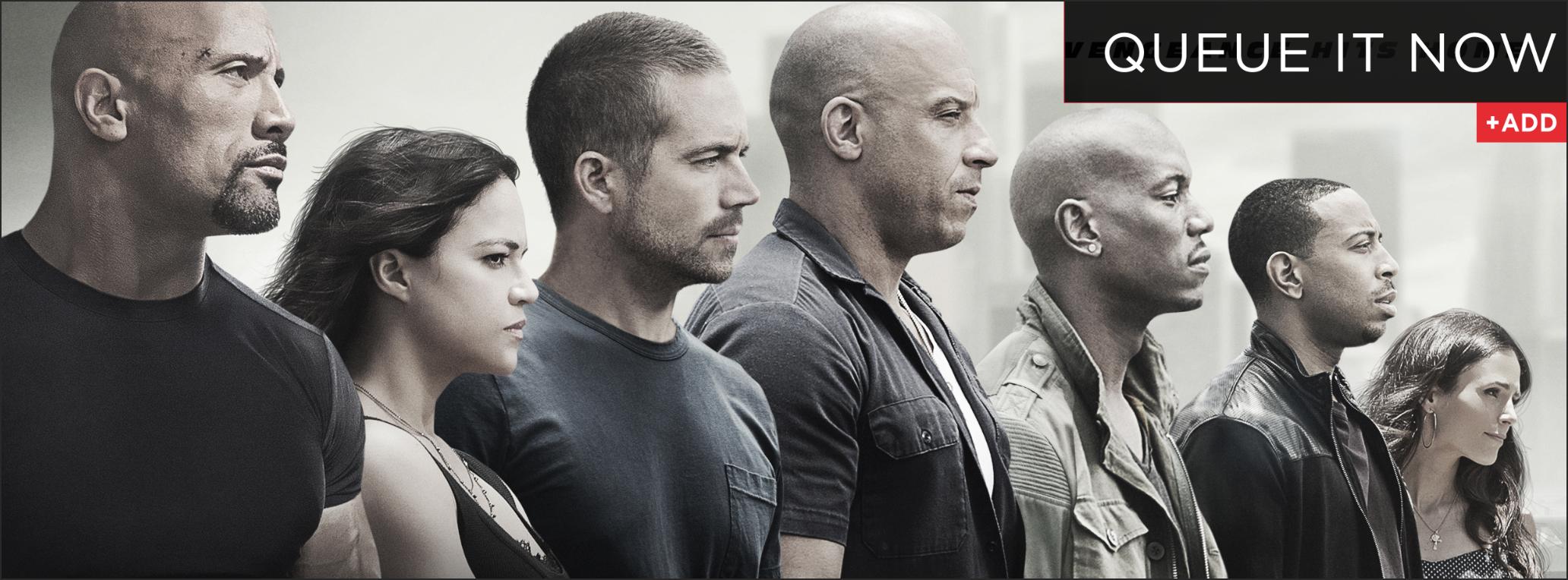 Furious 7 on DVD/Blu-ray
