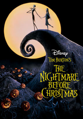 The Nightmare Before Christmas DVD for Rent