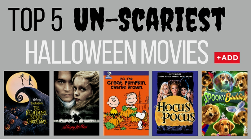 Top Halloween DVD Unscary Family Movies