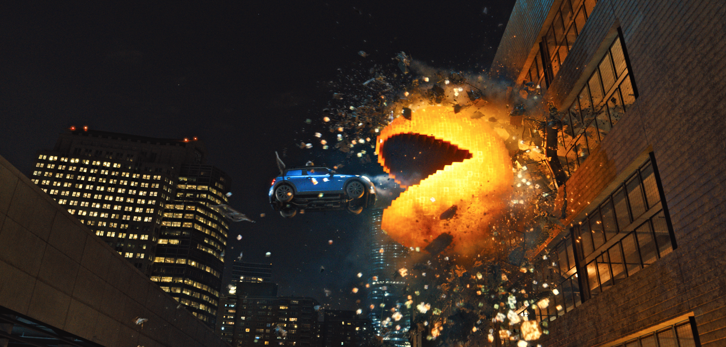 Pixels for rent on DVD/Blu-ray