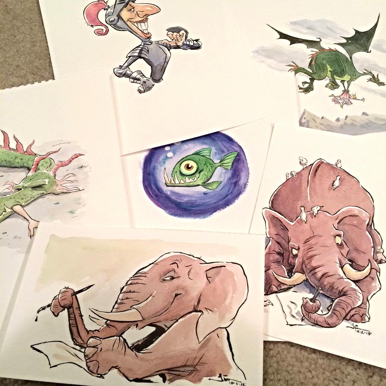 Illustrations from Pith & Vinegar