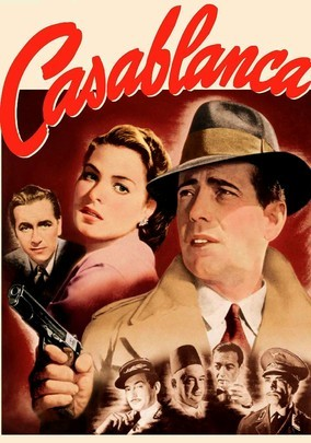 In this Oscar-winning classic, American expat Rick Blaine (Humphrey Bogart) plays host to gamblers, thieves and refugees at his Moroccan nightclub during World War II ... but he never expected Ilsa (Ingrid Bergman) - the woman who broke his heart -- to walk through that door. Ilsa hopes that with Rick's help, she and her fugitive husband (Paul Henreid) can escape to America. But the spark that brought the lovers together still burns brightly.