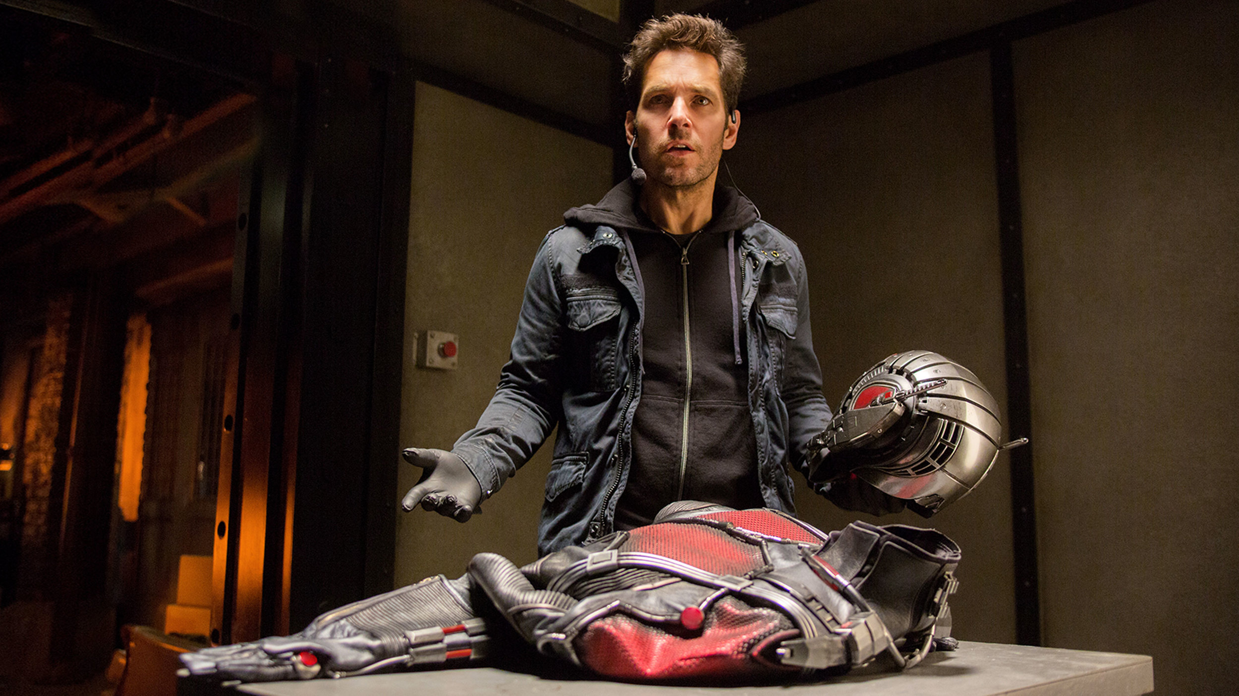Ant-Man, starring Paul Rudd and Corey Stoll.