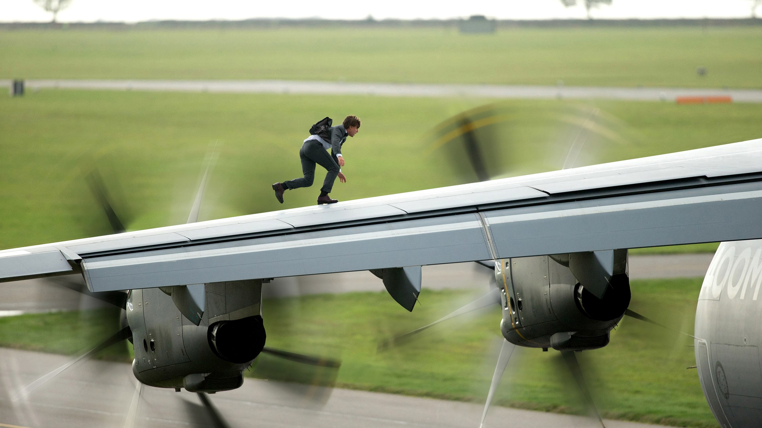 Mission: Impossible: Rogue Nation, starring Tom Cruise.