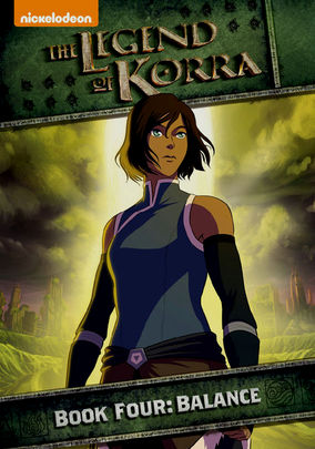 The Legend of Korra: Book 4: Balance