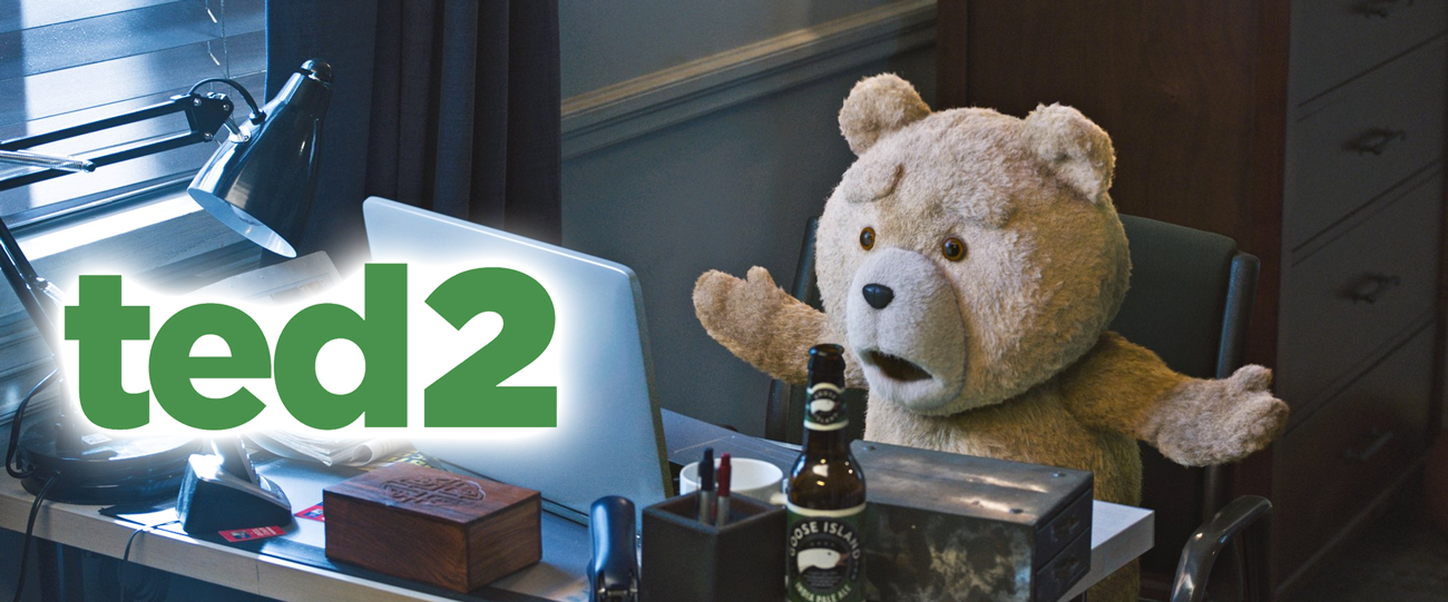 The raunch teddy bear returns as an aspiring father in Ted 2.