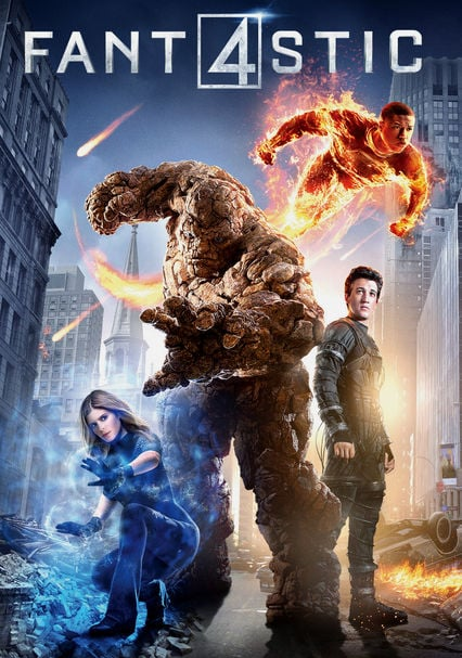 Fantastic Four DVD and Blu-ray for Rent