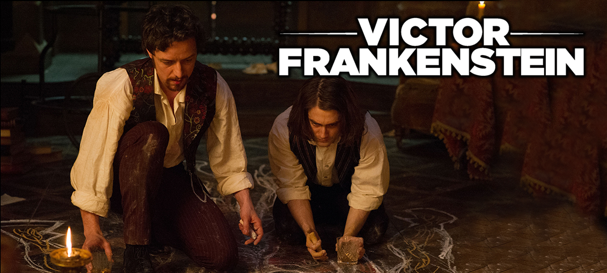 Rent Victor Frankenstein DVD and Blu-ray