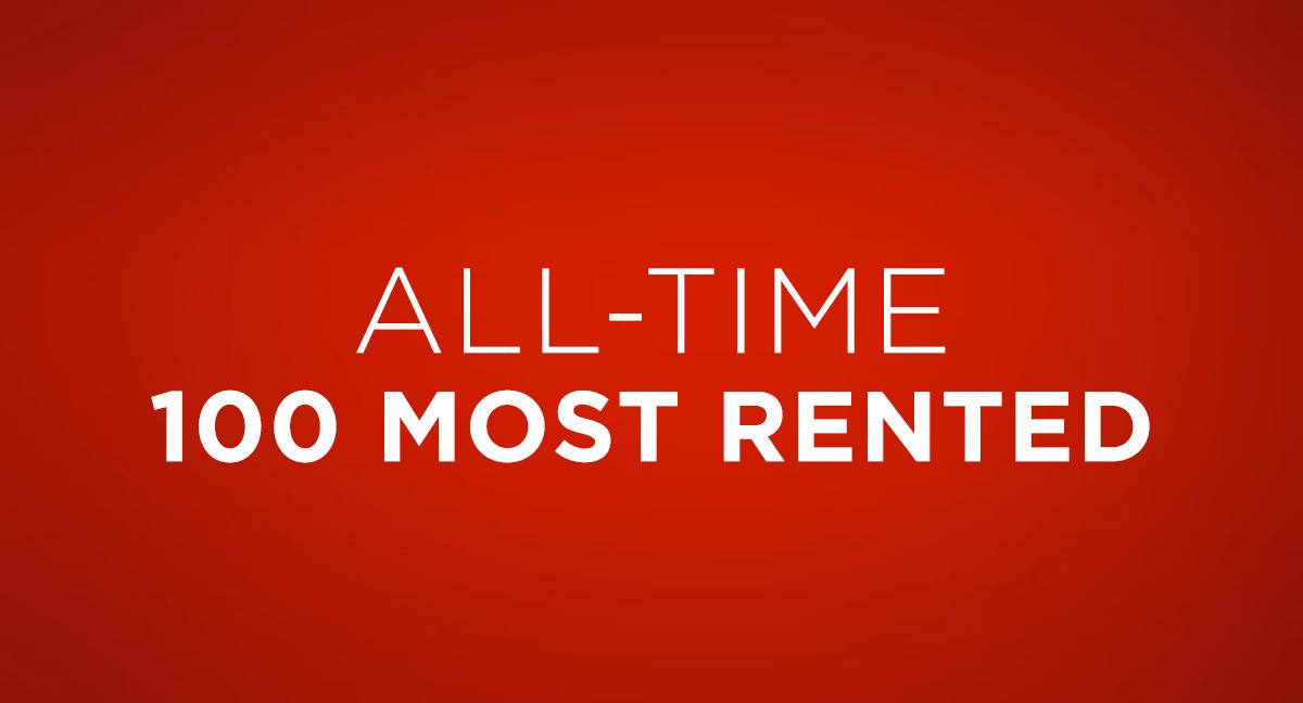 Top 100 Most Rented DVDs of DVD Netflix