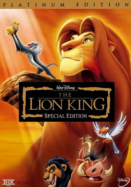 Rent The Lion King DVD