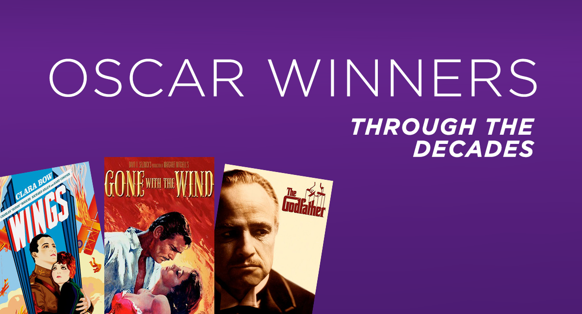 Go on your own Oscar-winning adventure by watching the Best Picture winners from every decade of the Academy Awards!